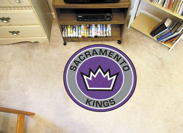 NBA - Sacramento Kings Roundel Mat - FANMATS - Dropship Direct Wholesale