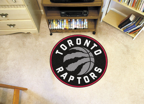 NBA - Toronto Raptors Roundel Mat - FANMATS - Dropship Direct Wholesale