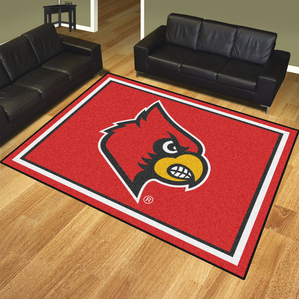University of Louisville 8x10 Rug - FANMATS - Dropship Direct Wholesale