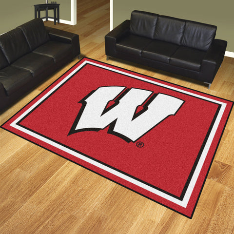 University of Wisconsin 8x10 Rug - FANMATS - Dropship Direct Wholesale