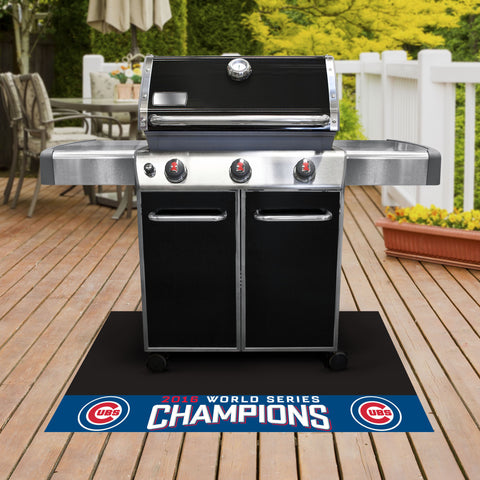 "Chicago Cubs 2016 World Series Champions Grill Mat 26""x42"" - FANMATS - Dropship Direct Wholesale"