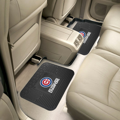 Chicago Cubs 2016 World Series Champions 2-piece Utility Mat - FANMATS - Dropship Direct Wholesale