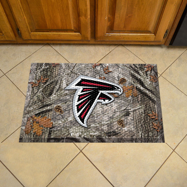 "NFL - Atlanta Falcons Scraper Mat 19""x30"" - Camo - FANMATS - Dropship Direct Wholesale"