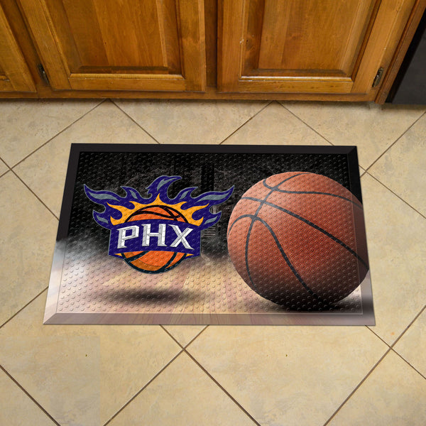 NBA - Phoenix Suns Scraper Mat 19x30 - Ball - FANMATS - Dropship Direct Wholesale