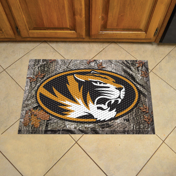 University of Missouri Scraper Mat 19x30 - Camo - FANMATS - Dropship Direct Wholesale