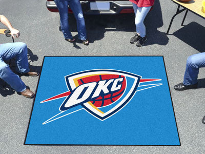 NBA - Oklahoma City Thunder Tailgater Rug 5x6 - FANMATS - Dropship Direct Wholesale