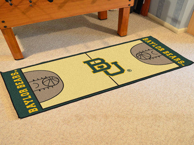 Baylor University Basketball Court Runner 30x72 - FANMATS - Dropship Direct Wholesale