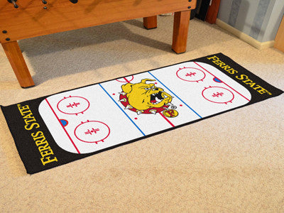 Ferris State Rink Runner 30x72 - FANMATS - Dropship Direct Wholesale