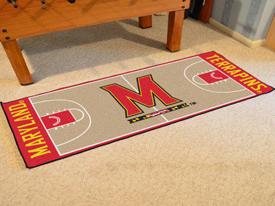 University of Maryland Basketball Court Runner 30x72 - FANMATS - Dropship Direct Wholesale