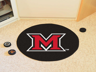 Miami University Puck Mat - FANMATS - Dropship Direct Wholesale