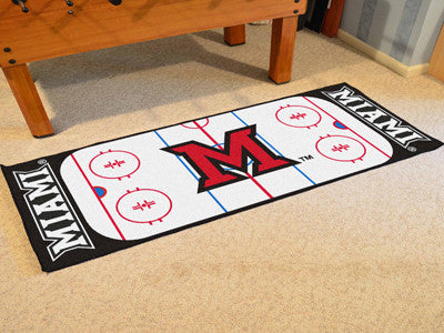 Miami University Rink Runner 30x72 - FANMATS - Dropship Direct Wholesale