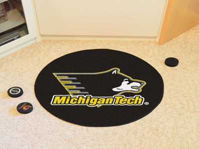 Michigan Tech Puck Mat - FANMATS - Dropship Direct Wholesale