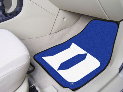 Duke University D 2-piece Carpeted Car Mats 17x27 - FANMATS - Dropship Direct Wholesale
