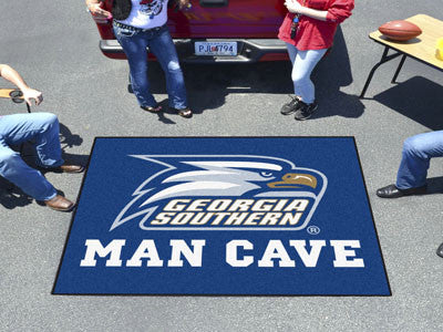 Georgia Southern University Man Cave Tailgater Rug 5x6 - FANMATS - Dropship Direct Wholesale