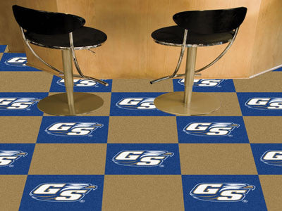 Georgia Southern University Carpet Tiles 18x18 tiles - FANMATS - Dropship Direct Wholesale
