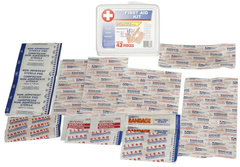 36 Piece Portable First Aid Kit (Set of 10) - Guardian - Dropship Direct Wholesale