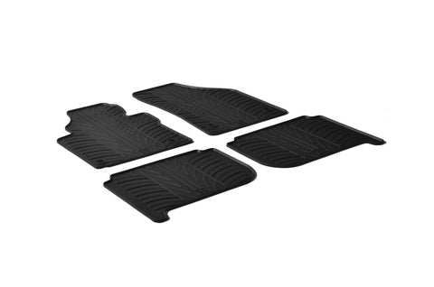 Gledring 2003-2015 Volkswagen Touran Custom Fit All Weather Floor Mats - Gledring - Dropship Direct Wholesale
