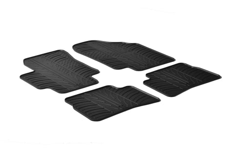 Gledring 2006-2011 Kia Rio Custom Fit All Weather Floor Mats - Gledring - Dropship Direct Wholesale