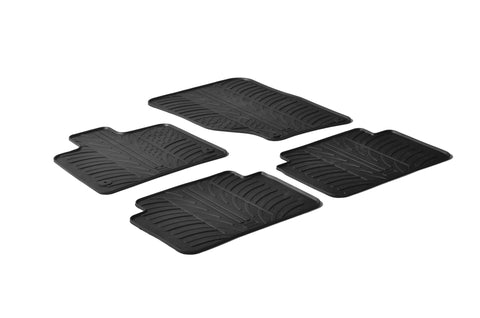 Gledring 2006-2014 Audi Q7 Custom Fit All Weather Floor Mats - Gledring - Dropship Direct Wholesale