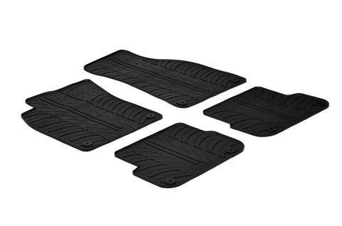 Gledring 2006-2010 Audi Q6 Custom Fit All Weather Floor Mats - Gledring - Dropship Direct Wholesale