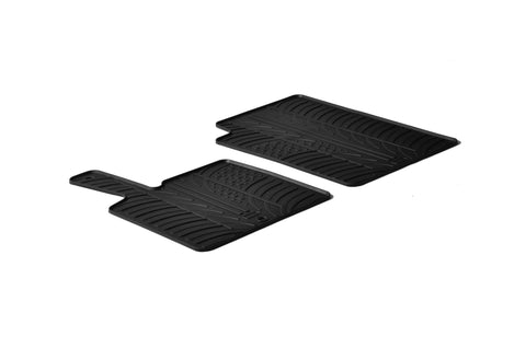 Gledring 2006-2014 Smart Fortwo Custom Fit All Weather Floor Mats - Gledring - Dropship Direct Wholesale