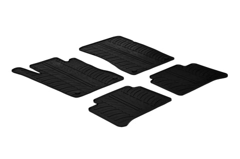 Gledring 2003-2009 Mercedes Benz E-Class (W211) Custom Fit All Weather Floor Mats - Gledring - Dropship Direct Wholesale