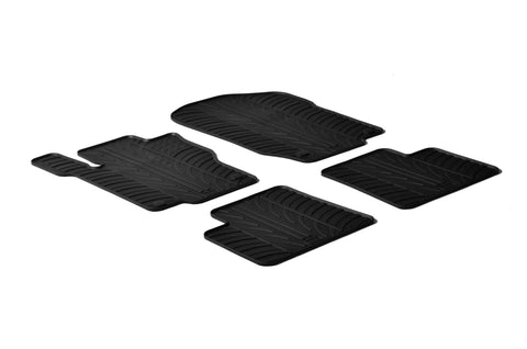 Gledring 2005-2011 Mercedes Benz M-Class (W164) Custom Fit All Weather Floor Mats - Gledring - Dropship Direct Wholesale