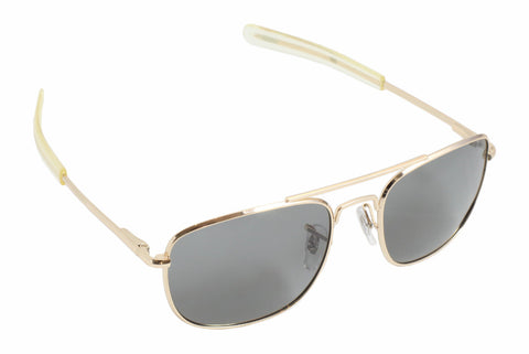 Humvee Military Sunglasses - 52mm - Gold - Humvee - Dropship Direct Wholesale