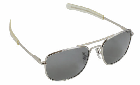 Humvee Military Sunglasses - 52mm - Silver - Humvee - Dropship Direct Wholesale