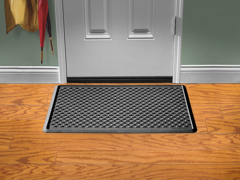 "IndoorMat Black Indoor Mat 24"" x 39"" - WeatherTech - Dropship Direct Wholesale - 1"