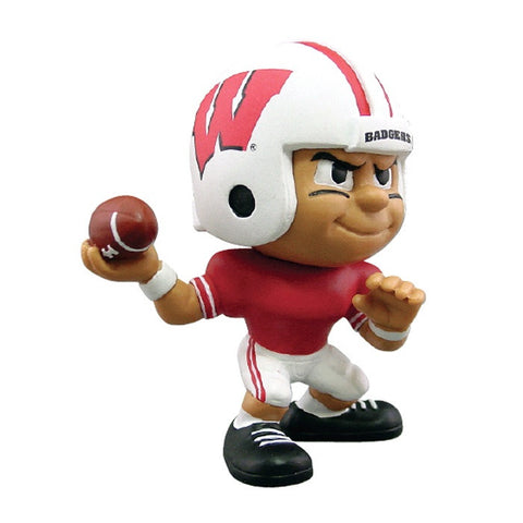 Lil Teammates Series Wisconsin Badgers Quarterback Figurine (Edition 1) - Lil Teammates - Dropship Direct Wholesale