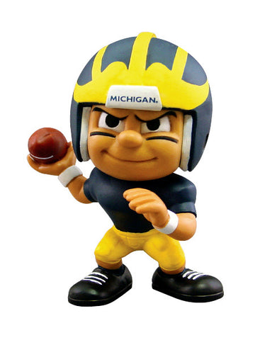 Lil Teammates Series Michigan Wolverines Quarterback Figurine (Edition 2) - Lil Teammates - Dropship Direct Wholesale