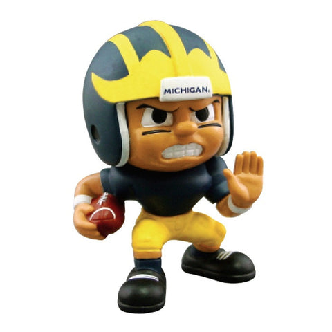 Lil Teammates Series Michigan Wolverines Running Back Figurine (Edition 3) - Lil Teammates - Dropship Direct Wholesale