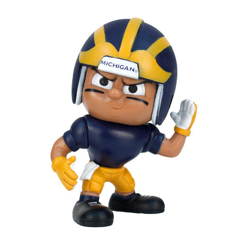 Lil Teammates Series Michigan Wolverines Wide Receiver Figurine (Edition 4) - Lil Teammates - Dropship Direct Wholesale