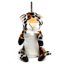 Iconic Pet - Leopard Bottle Fill Wild Animal Dog Toy - 15 Inch - Iconic Pet - Dropship Direct Wholesale