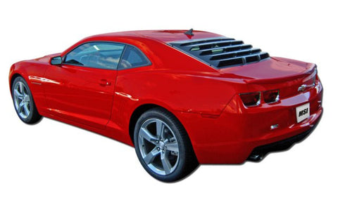 2010-2014 Chevrolet Camaro ABS Rear Window Louver - Mach-Speed - Dropship Direct Wholesale