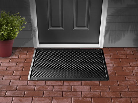 "OutdoorMat Black Outdoor Mat 24"" x 39"" - WeatherTech - Dropship Direct Wholesale - 1"