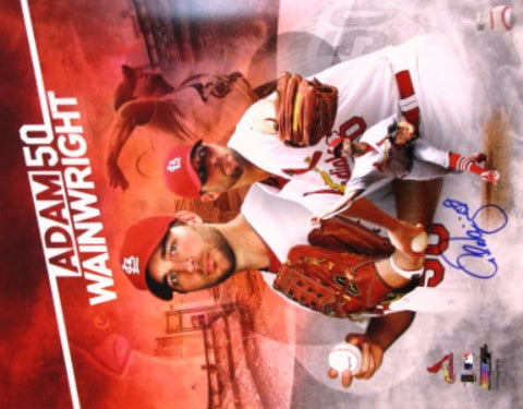 Adam Wainwright Autographed 16x20 Collage Photo - MLBPAA - Dropship Direct Wholesale