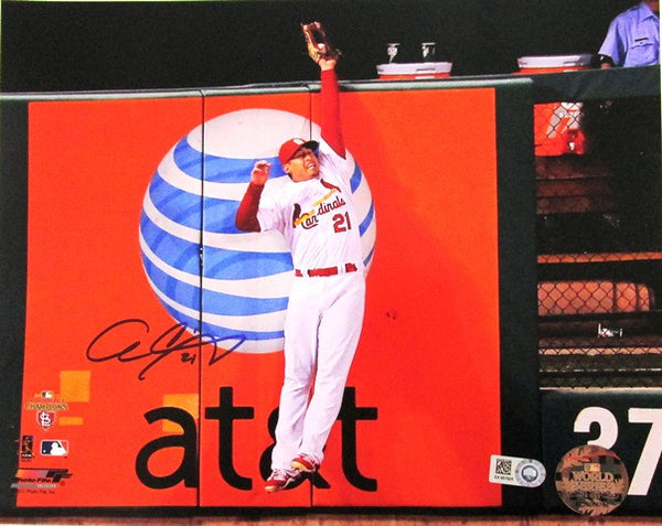Allen Craig Autographed 8x10 2011 WS Game 7 Catch Photo - MLBPAA - Dropship Direct Wholesale