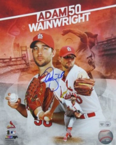 Adam Wainwright Autographed 8x10 Collage Photograph - MLBPAA - Dropship Direct Wholesale