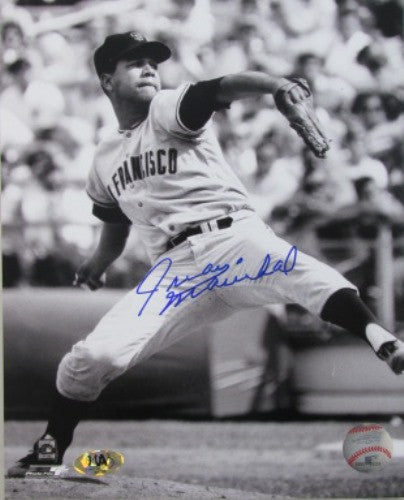 Juan Marichal Autographed 8x10 B&W Giants Photo - MLBPAA - Dropship Direct Wholesale