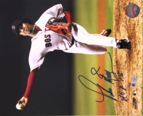 Pedro Martinez Autographed 8x10 Photo with HOF 15 Inscription - MLBPAA - Dropship Direct Wholesale