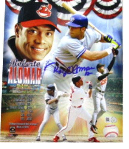 Roberto Alomar Autographed 8x10 Collage Photo - MLBPAA - Dropship Direct Wholesale