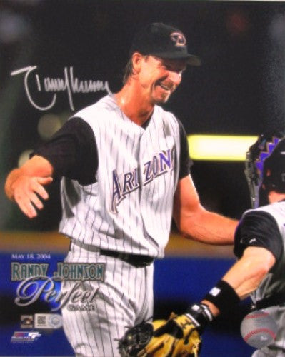 Randy Johnson Autographed 8x10 Perfect Game Photo - MLBPAA - Dropship Direct Wholesale