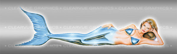 Window Graphic - 20x65 Pin-up Christy - ClearVue Graphics - Dropship Direct Wholesale