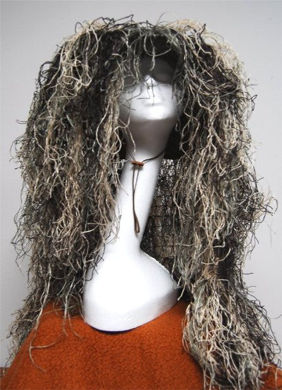 Ghillie Sniper Boonie Hat Mossy Size 7.25 - GhillieSuits - Dropship Direct Wholesale