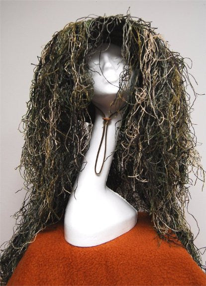 Ghillie Sniper Boonie Hat Woodland Size 7.5 - GhillieSuits - Dropship Direct Wholesale