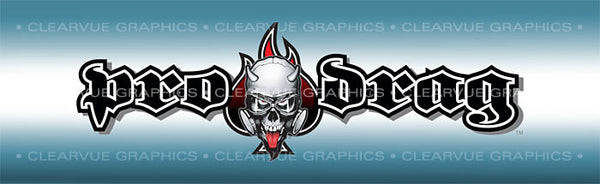 Window Graphic - 16x54 Pro Drag - Ace - ClearVue Graphics - Dropship Direct Wholesale