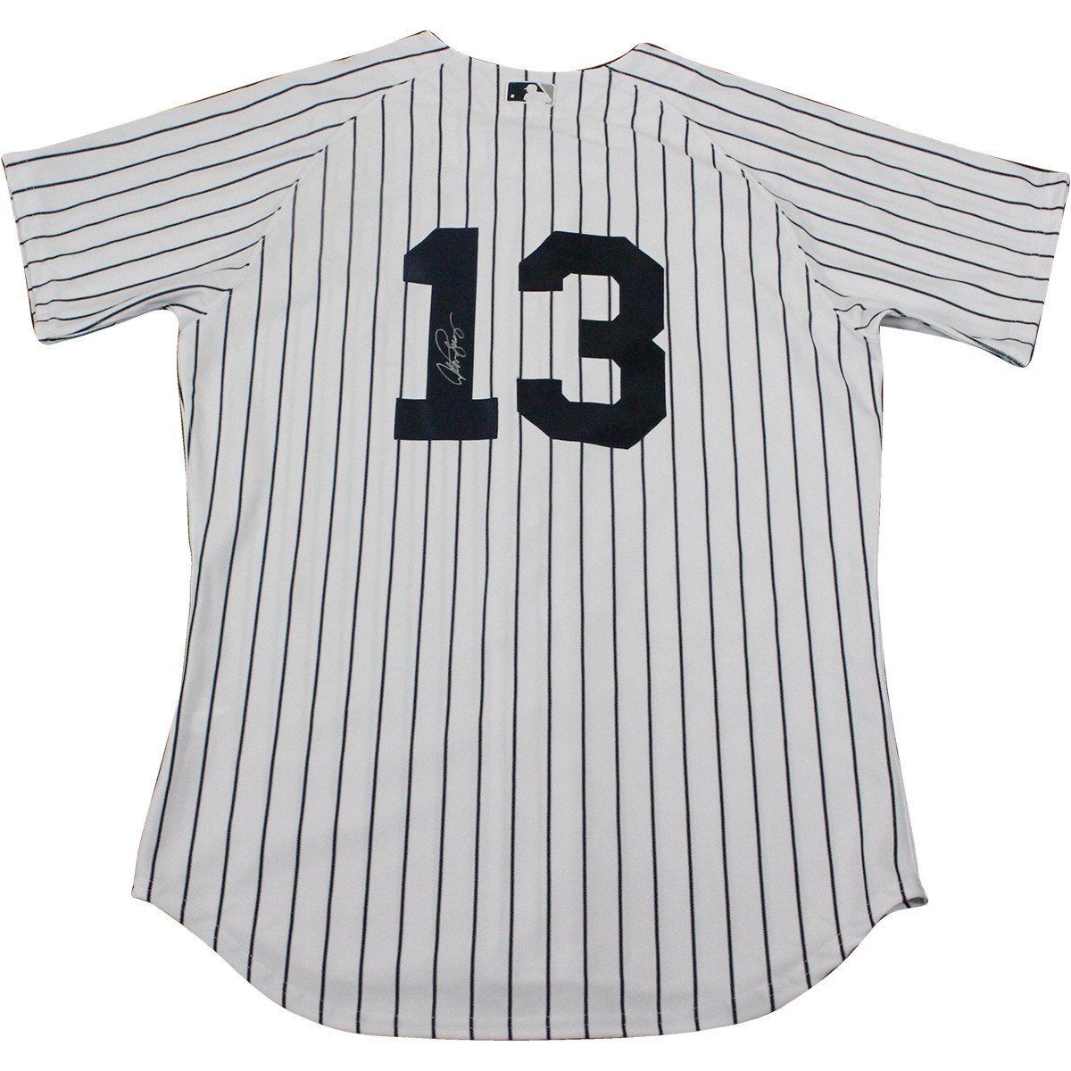 Alex Rodriguez Signed New York Yankees Authentic Home Jersey Signed On Back
