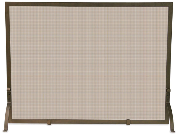 Single Panel Bronze Screen - UniFlame - Dropship Direct Wholesale